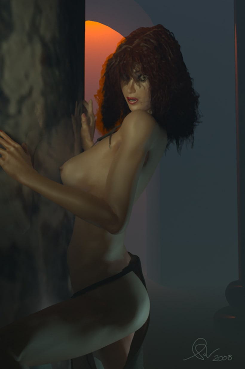 Modelado 3D women 3