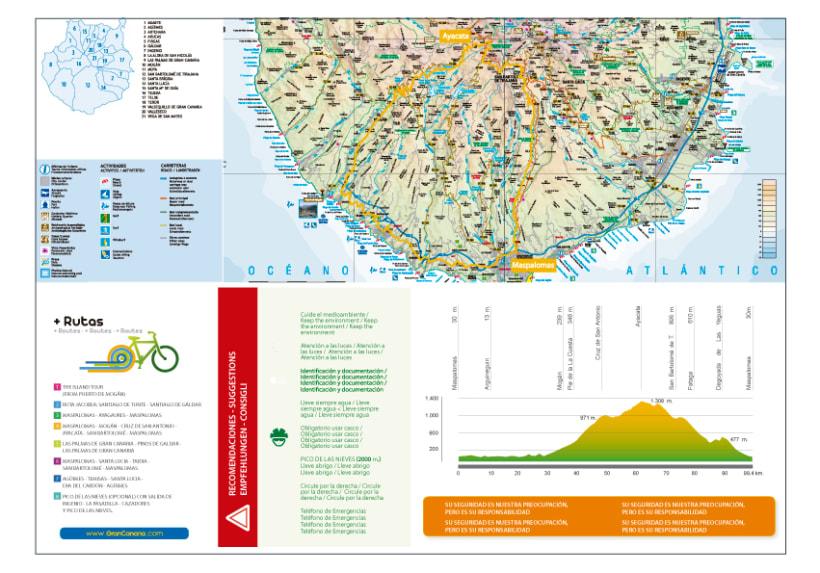 Folletos de rutas ciclistas  2