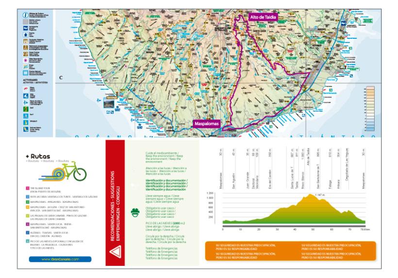 Folletos de rutas ciclistas  4