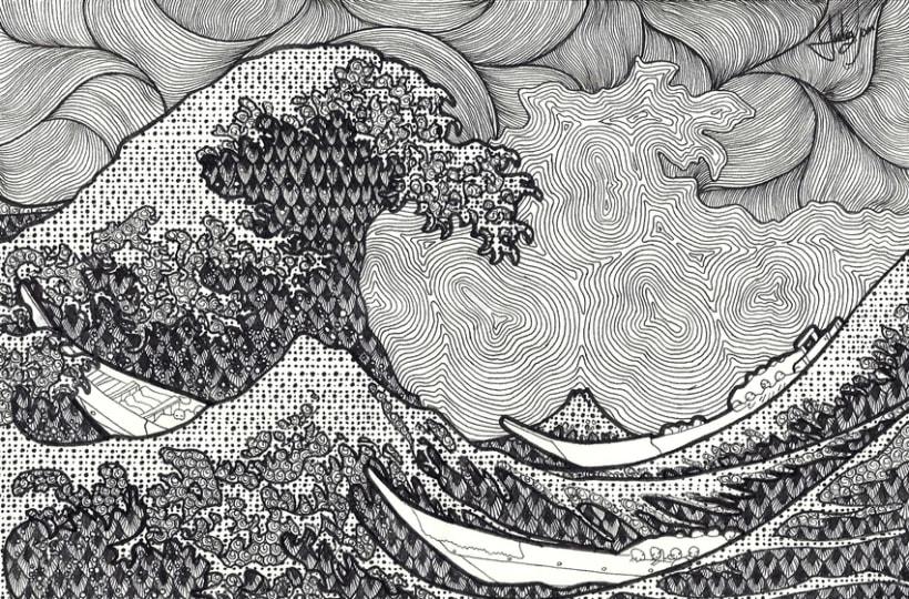 La gran ola. 0