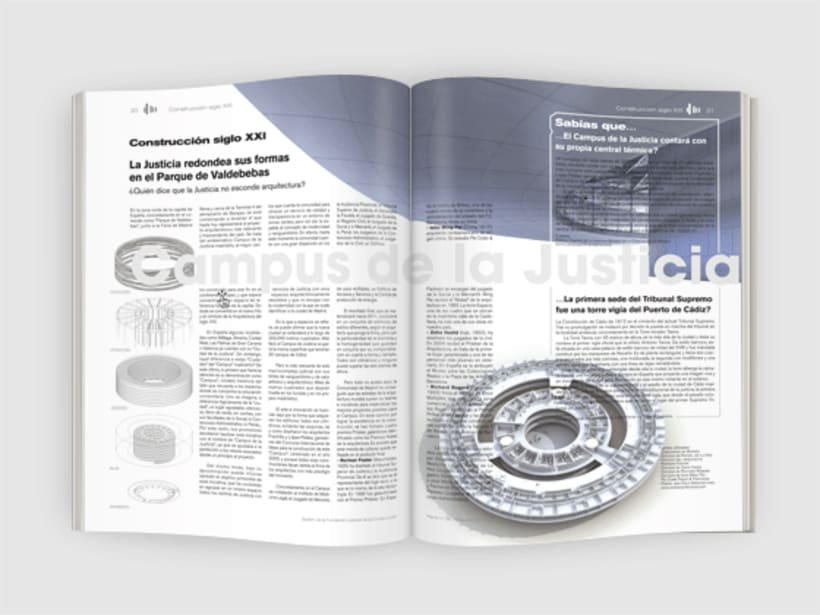 Panel, revista. Diseño de portadas y maquetación interior. 1