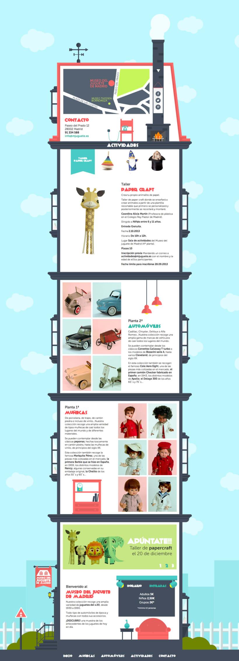 Museo del juguete de Madrid (personal web project) 2