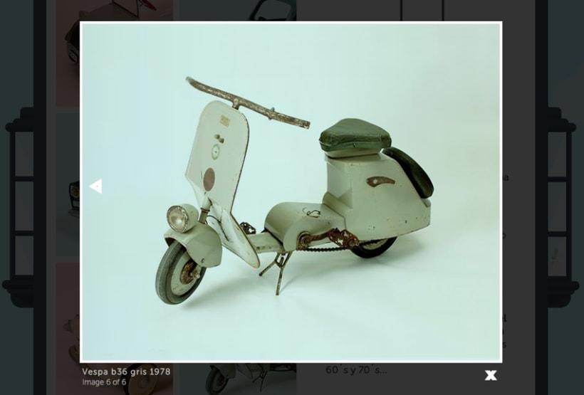 Museo del juguete de Madrid (personal web project) 9