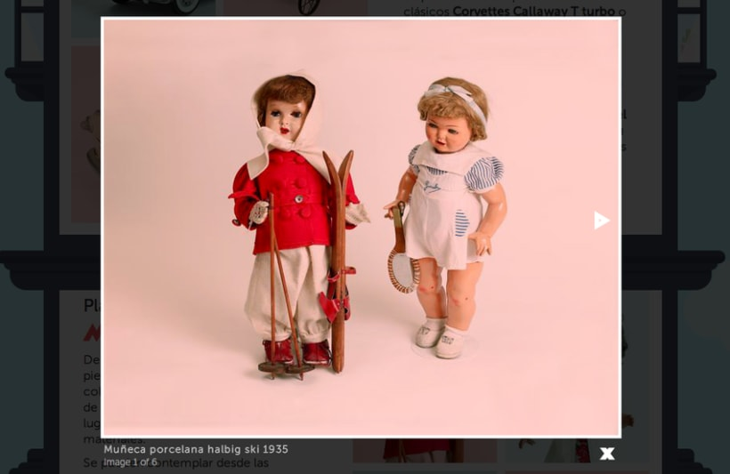 Museo del juguete de Madrid (personal web project) 10