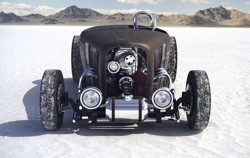 The Bonneville Salt Flat 0