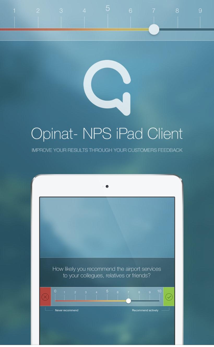 Opinat - iPad App 1