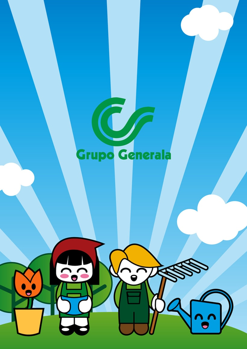 """Grupo Generala, """"Un jardín en mi casa"""" 0"""