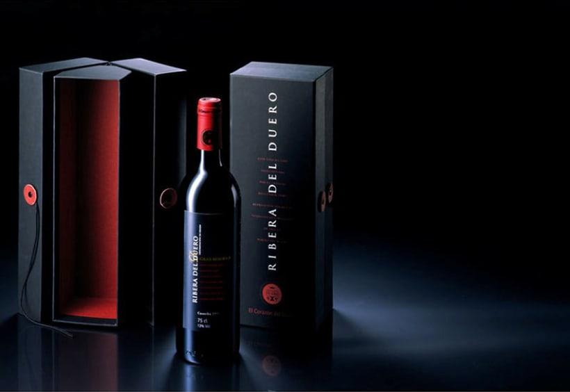 Packaging Vinos Gran Reserva Rivera del Duero 1