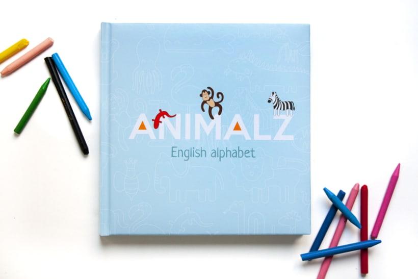 AnimalZ. Abecedario en inglés para niños 1