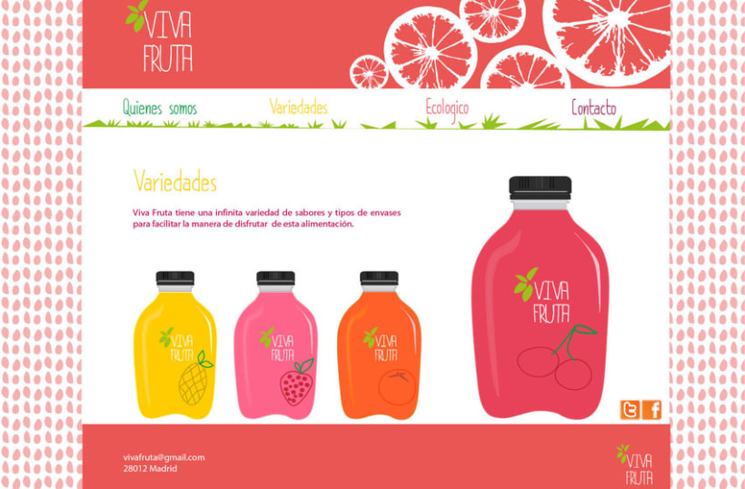 Web Viva Fruta 2