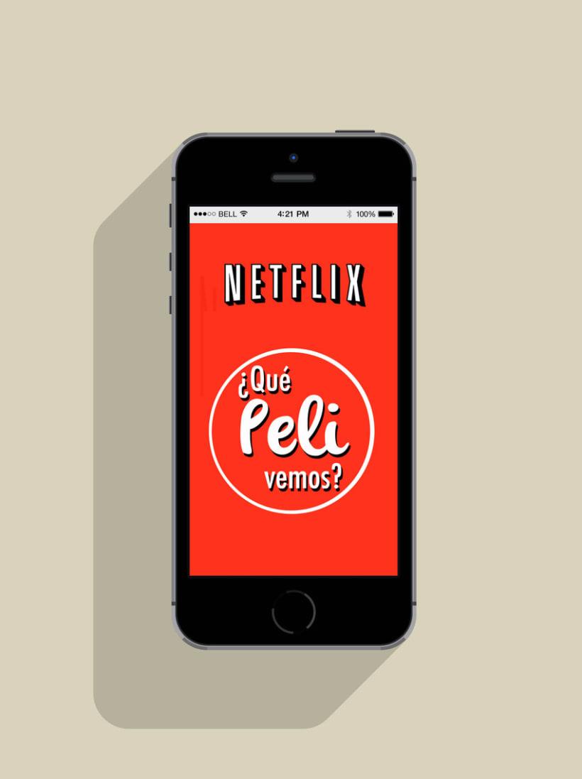 "Netflix App ""¿Qué peli vemos?"" 0"