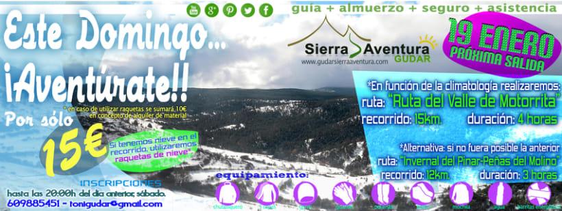 Oferta Gúdar Sierra Aventura 1
