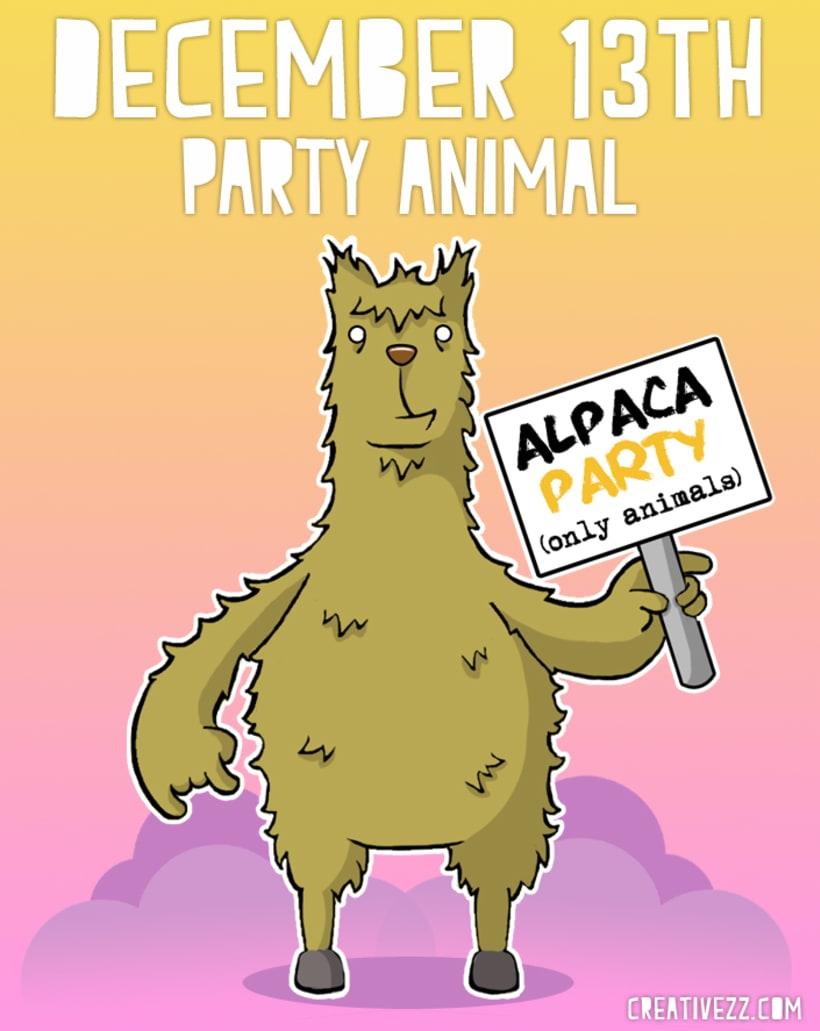 Alpaca Party -1