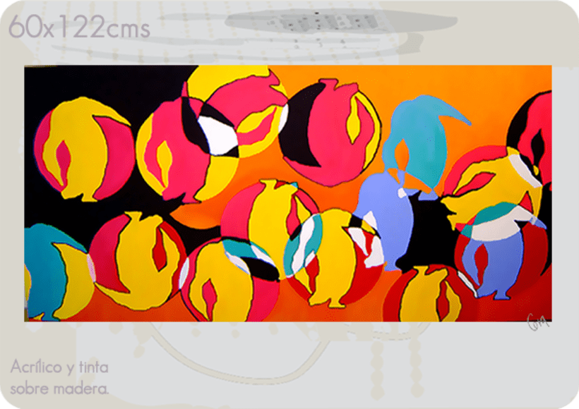 cápsulas / pintura 9