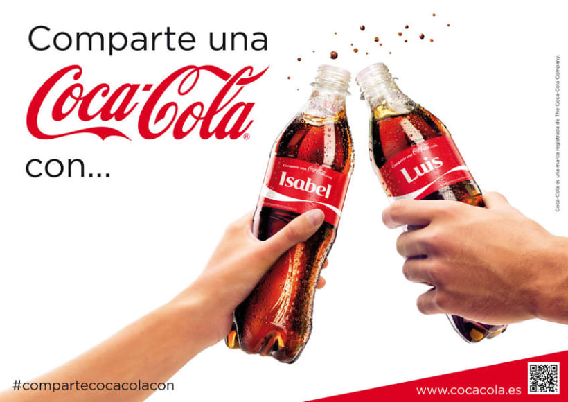 Comparte una Coca-Cola 1
