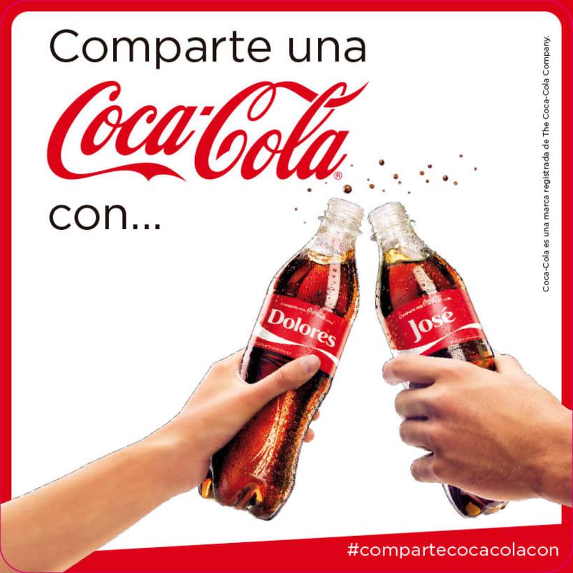 Comparte una Coca-Cola 5