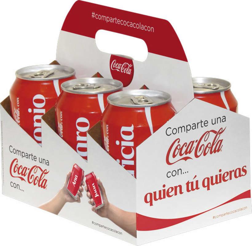 Comparte una Coca-Cola 6