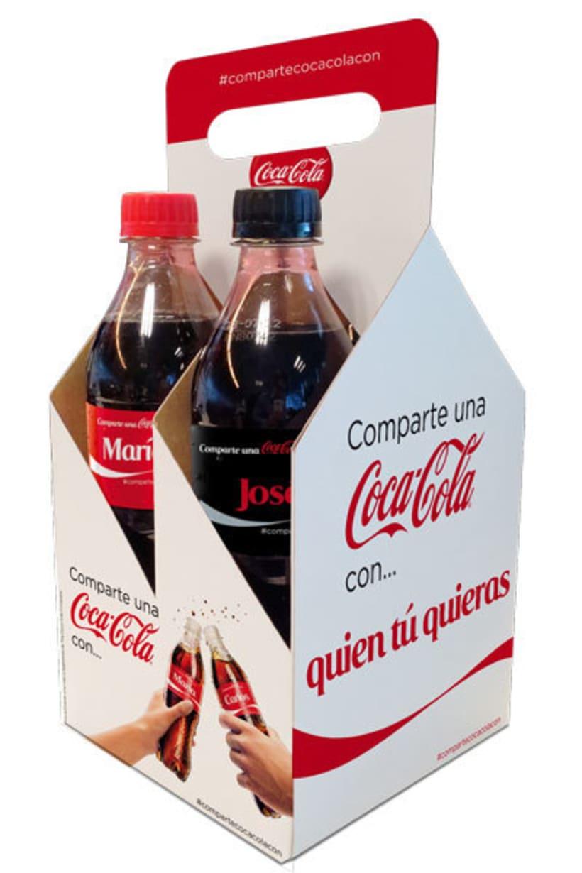 Comparte una Coca-Cola 7