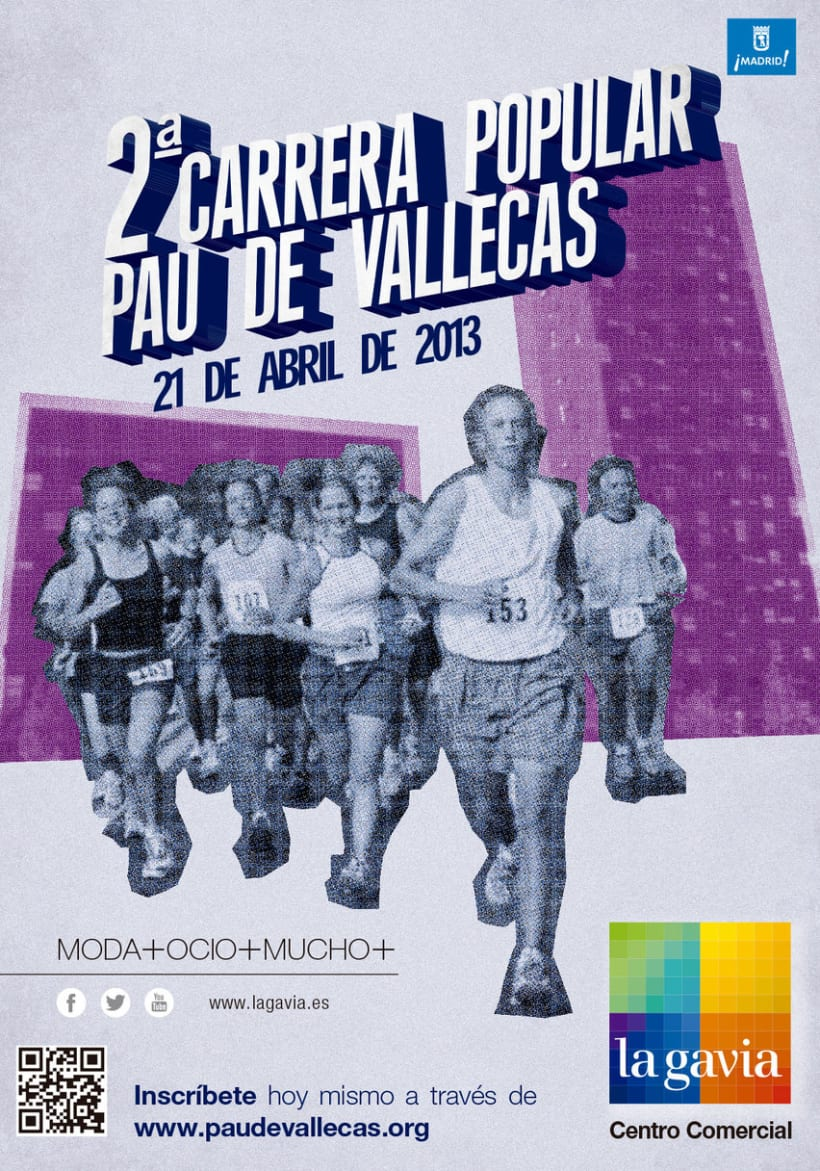 2ª Carrera Popular PAU de Vallecas -1