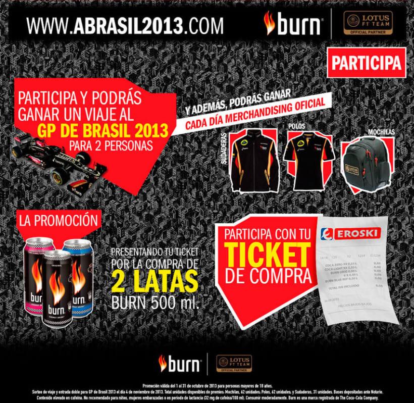Concurso Burn - GP Brasil F1 -1