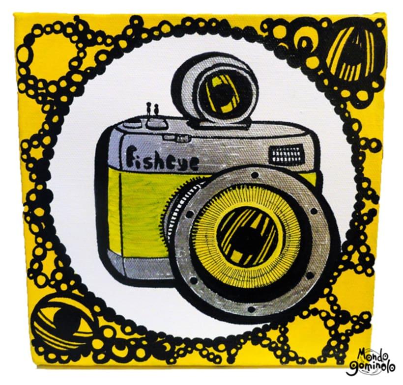 ilustraciones para MONDOGOMINOLO en LOMOGRAPHY 4