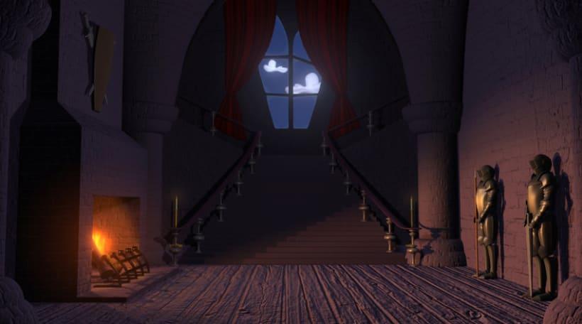 Interior Castell Gotic Gothic Castle Inside 0