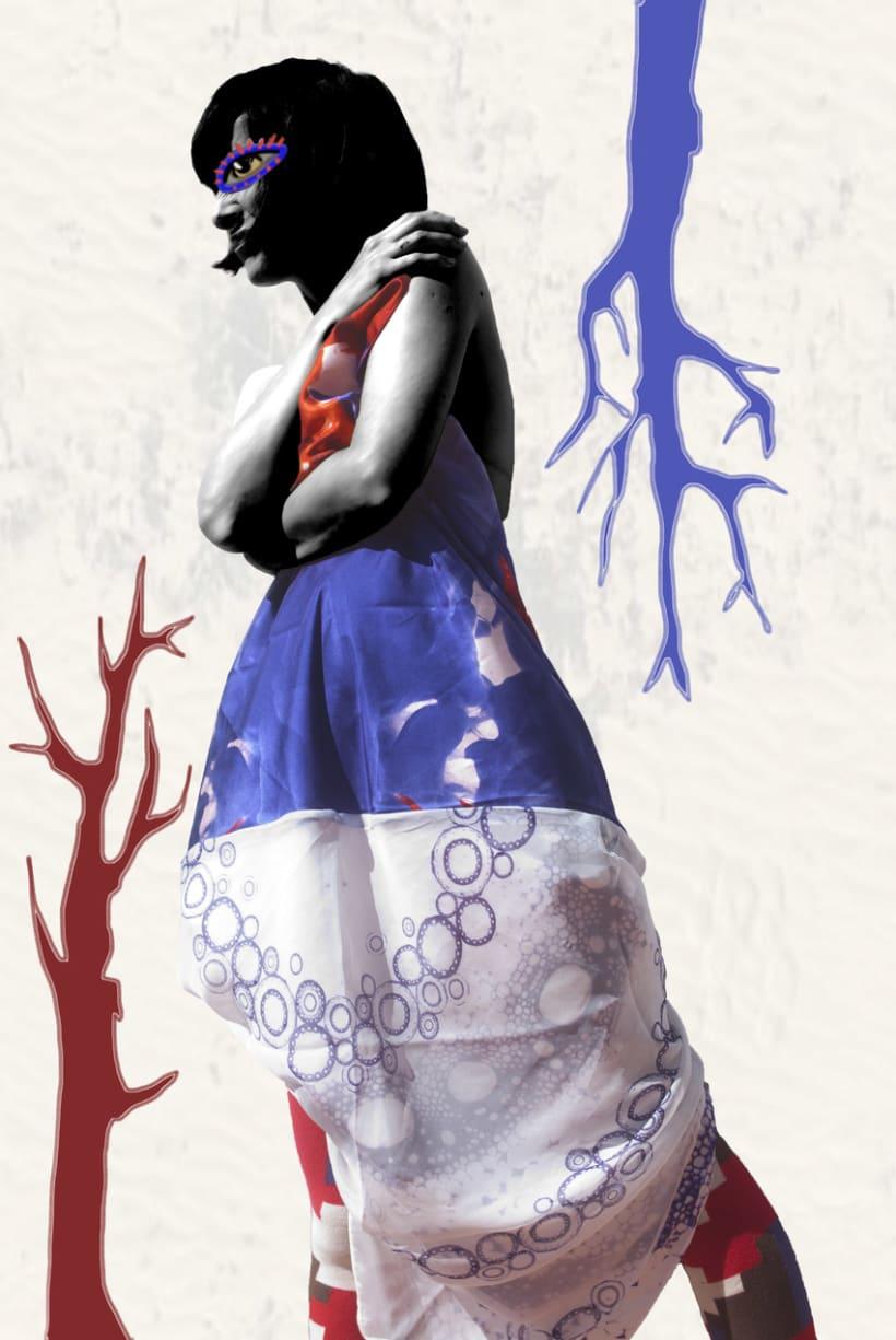 Photography illustrations & design for Buff and MyRestlesseye fashion blog 2
