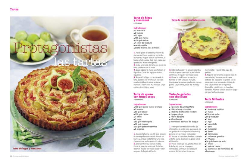Diseno Y Maquetacion De Revista Cocina Vegetariana Domestika