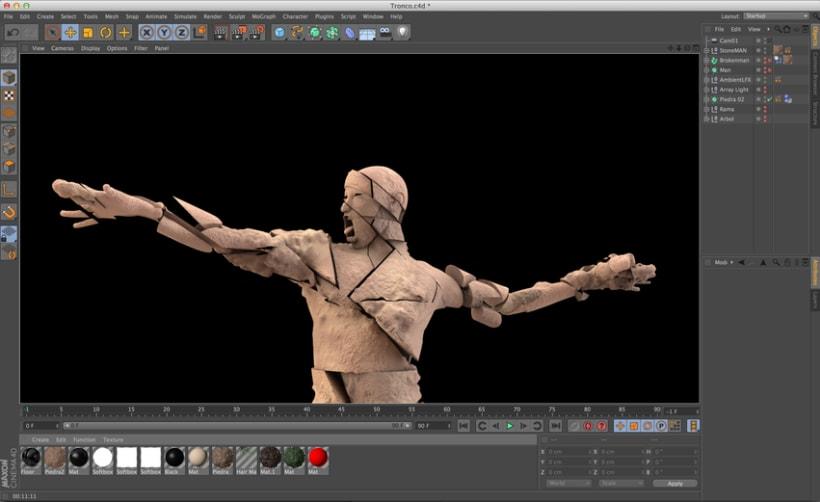 Estatua de Piedra TEST 01 3