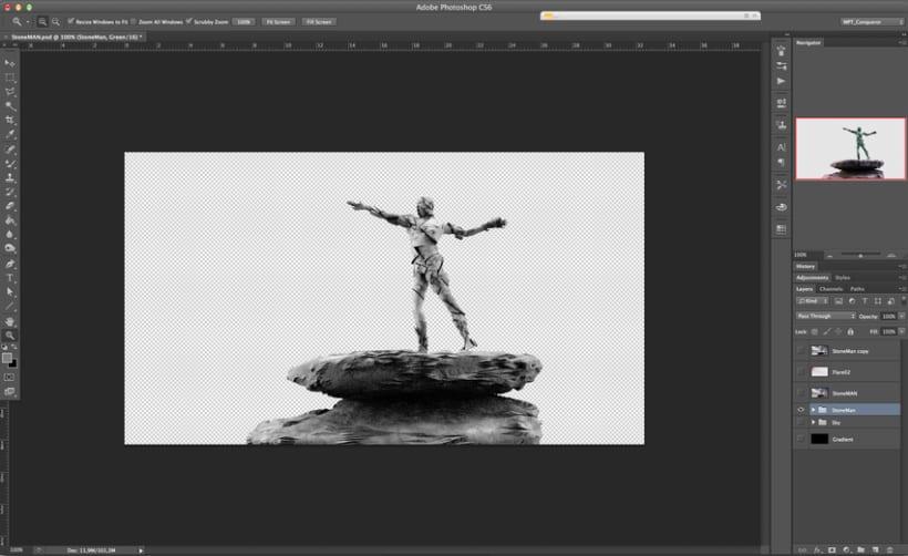 Estatua de Piedra TEST 01 5