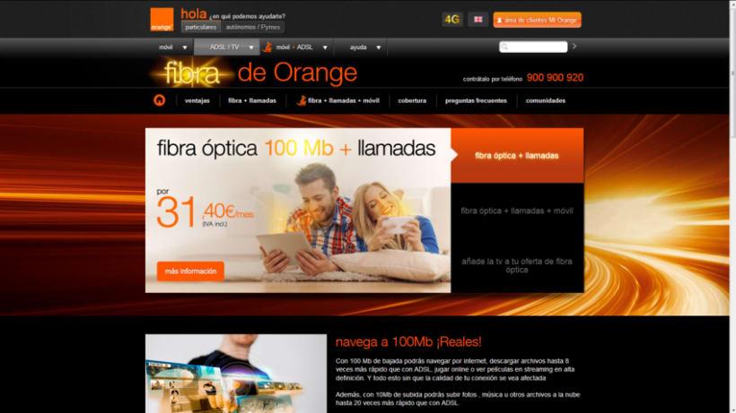 Fibra Óptica de Orange 19