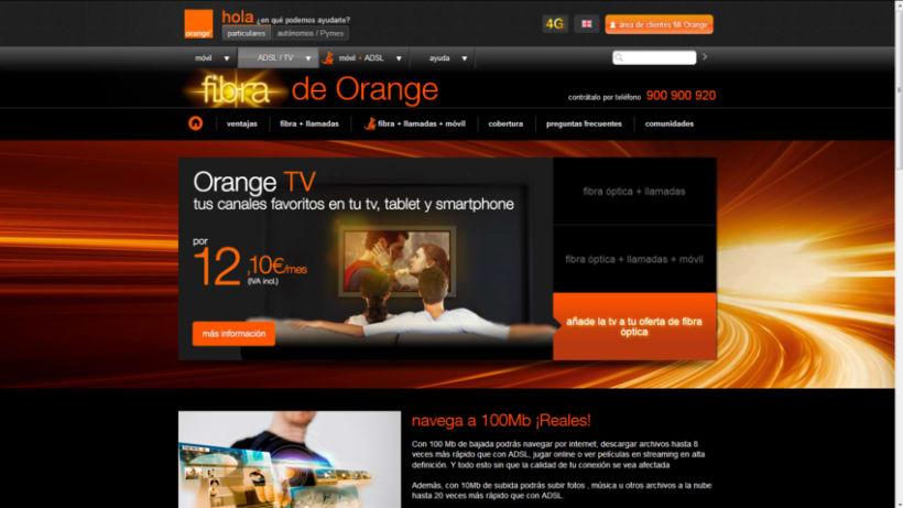 Fibra Óptica de Orange 21