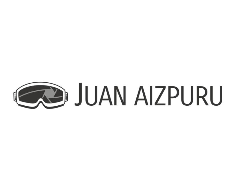 Juan Aizpuru diseño logotipo 1