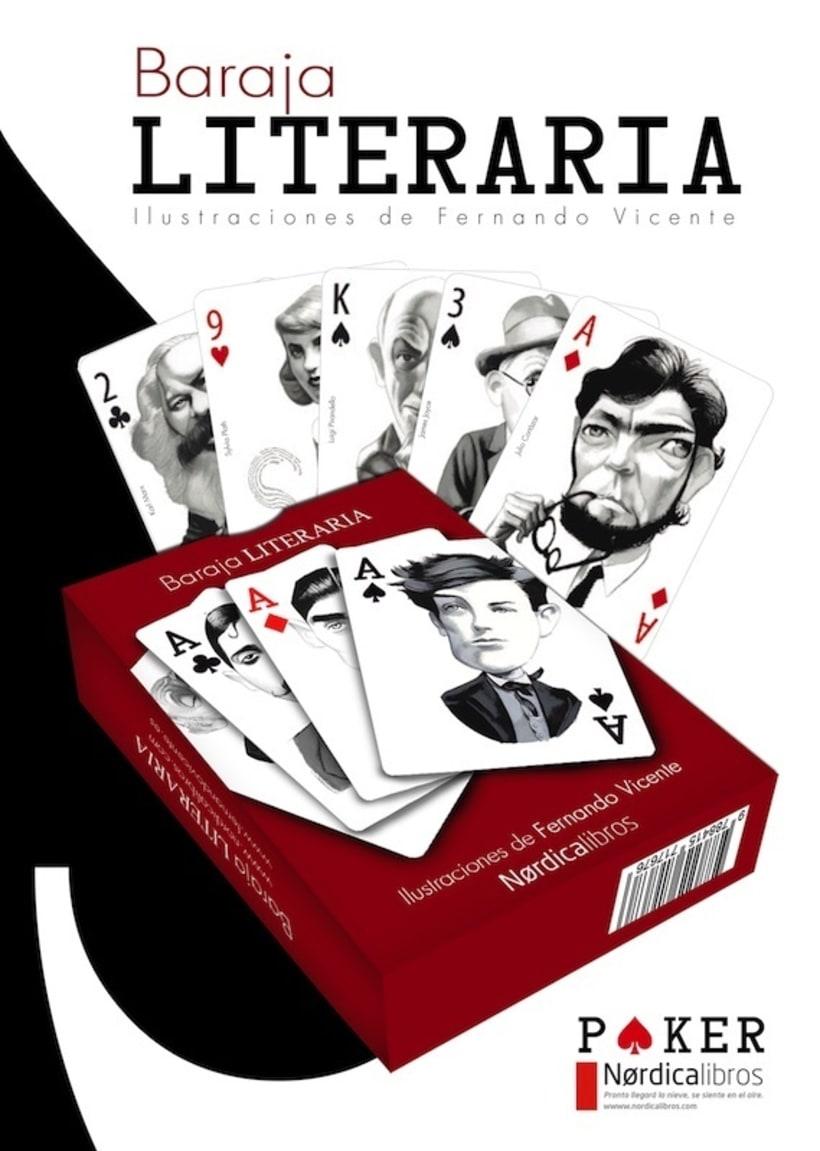 Baraja Literaria - Fernando Vicente & Nórdica Libros 5