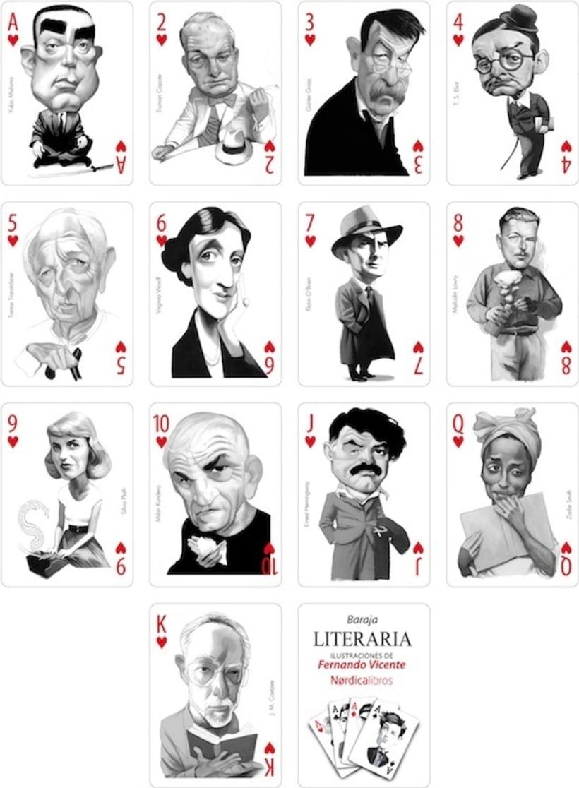 Baraja Literaria - Fernando Vicente & Nórdica Libros 4