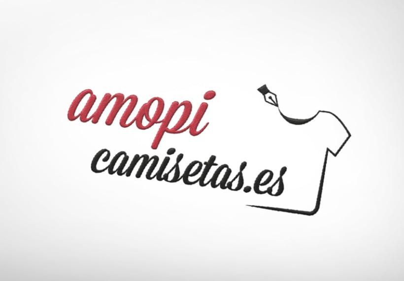 AmopiCamisetas - Identidad Visual Corporativa 0