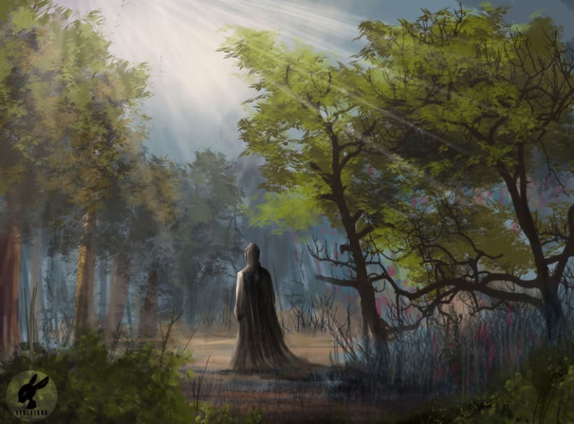 Being elemental forest. by Heberland -1