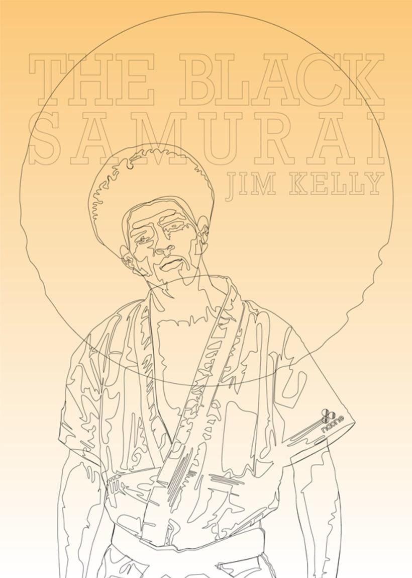 The Black Samurai. Jim Kelly. 0