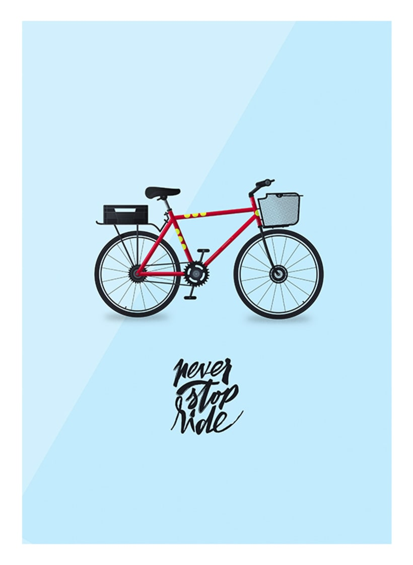 Never stop ride -1