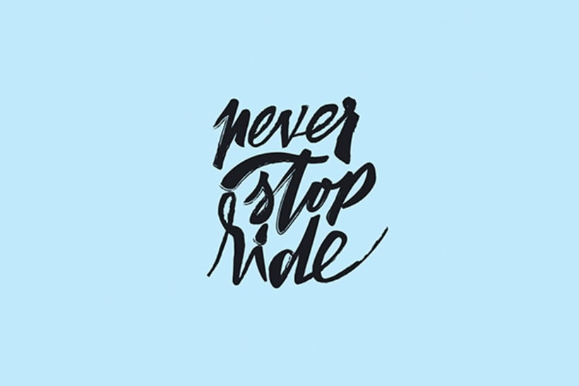 Never stop ride 1