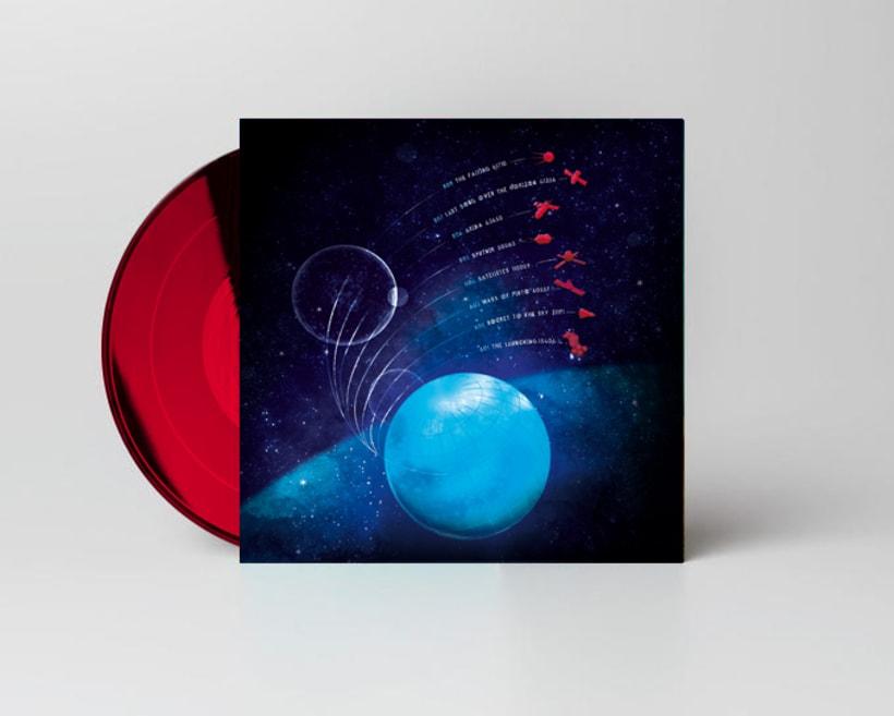 EXXASENS Satellites (LP, cd, poster & web) 1
