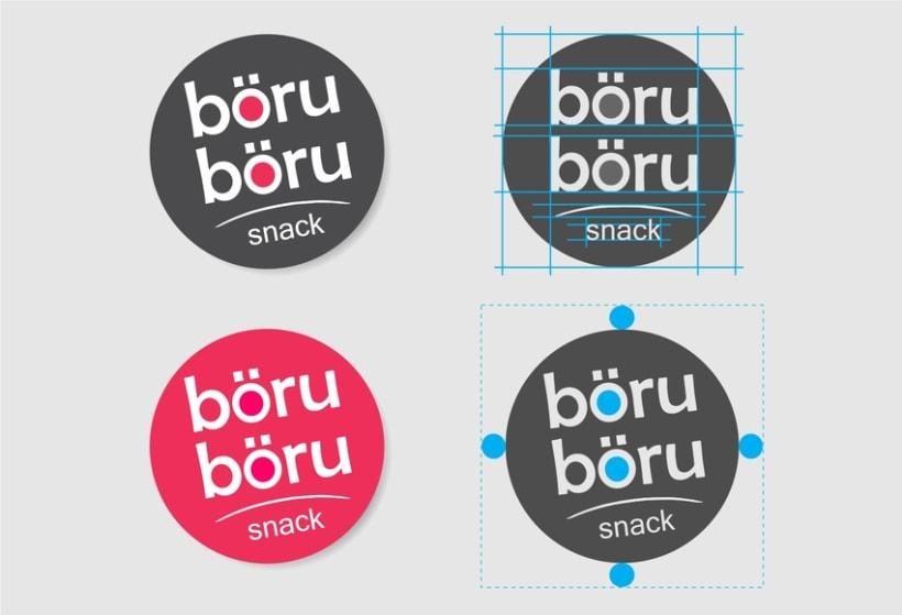 böru-böru snack - Branding 0