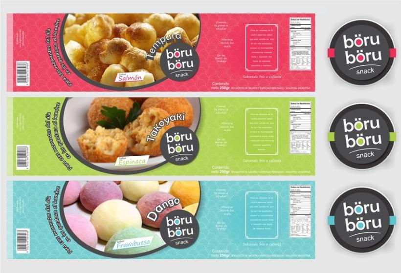 böru-böru snack - Branding 4
