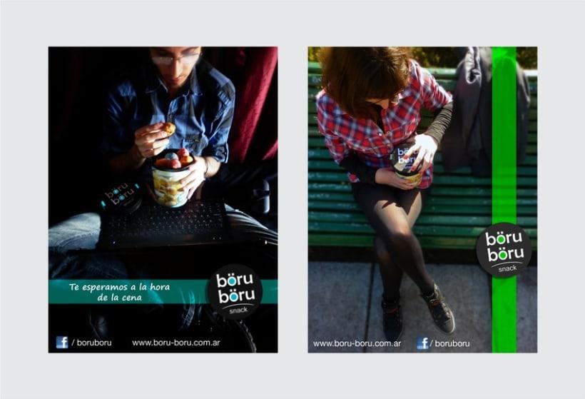 böru-böru snack - Branding 6