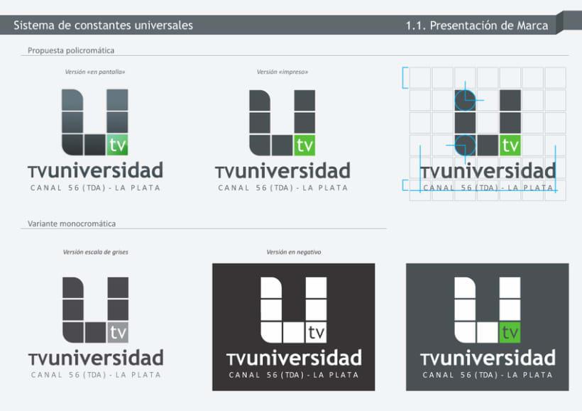 TV-Universidad - UNLP - Branding 2