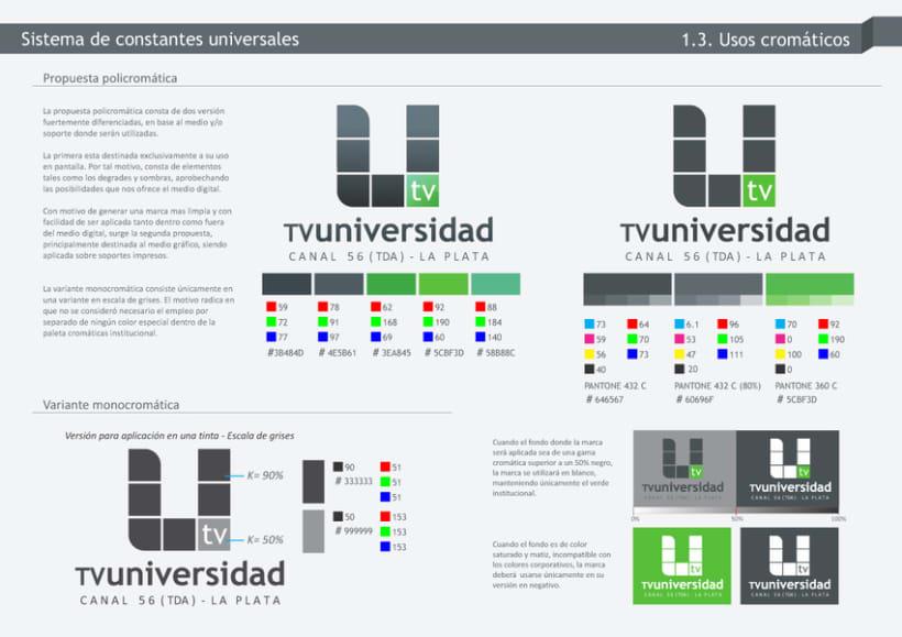 TV-Universidad - UNLP - Branding 4