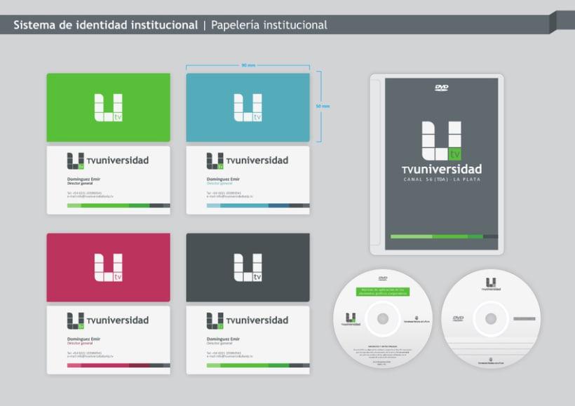 TV-Universidad - UNLP - Branding 5