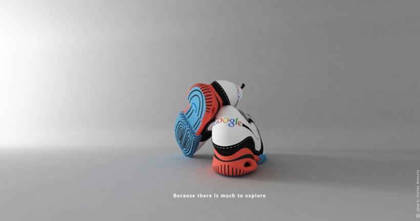 Google Chrome Shoes 0