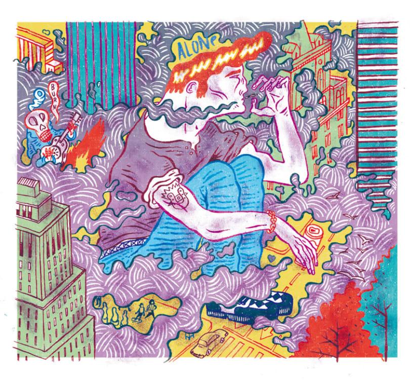HUMO (Libro ilustrado) Del Hambre dibuja y 16 autores escriben. Publicación: MARZO 2014 11