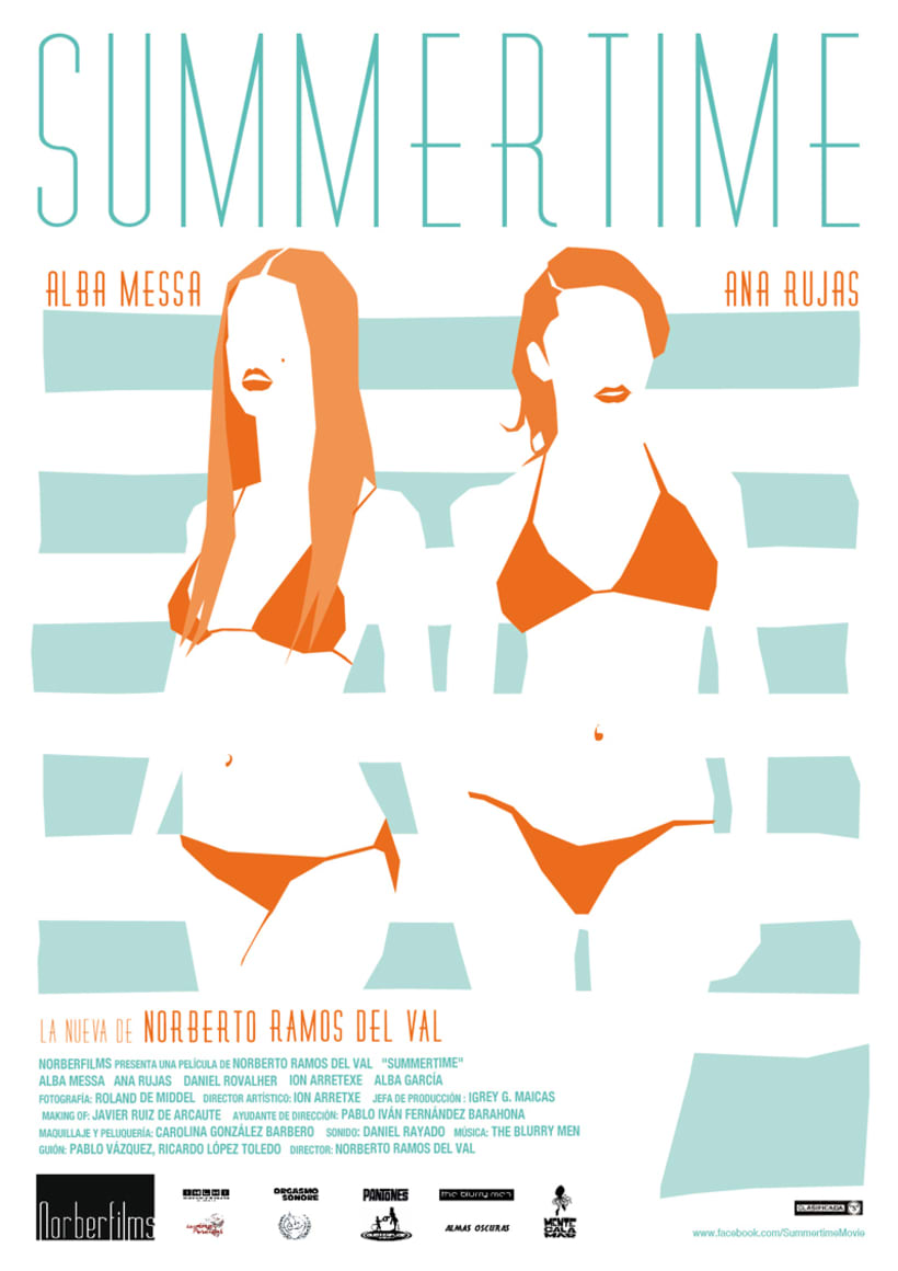 Diseño imagen y portada - Summertime 0